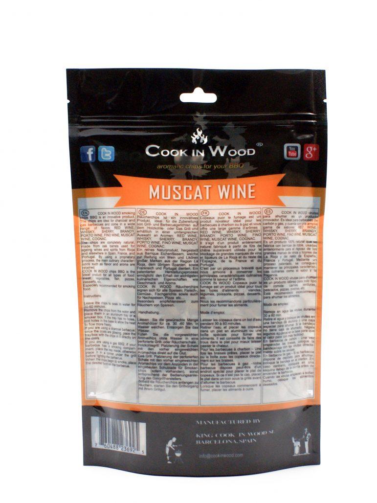 Image Smoking Chips Muscat Wine Back
