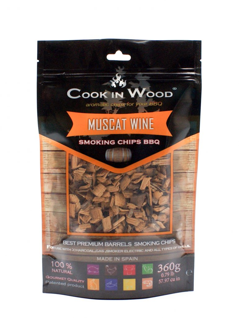 Image Smoking Chips Muscat Wine
