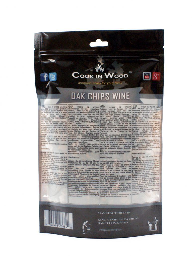 Image Smoking Chips Oak Chips Back