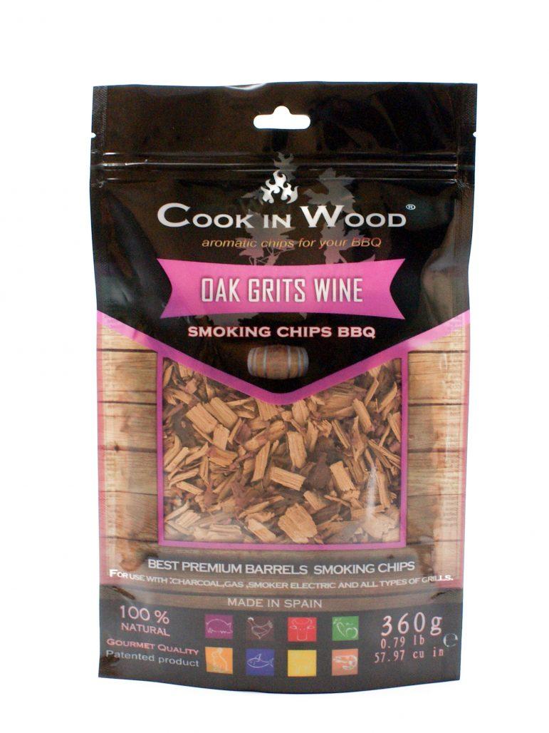 Image Smoking Chips Oak Grits