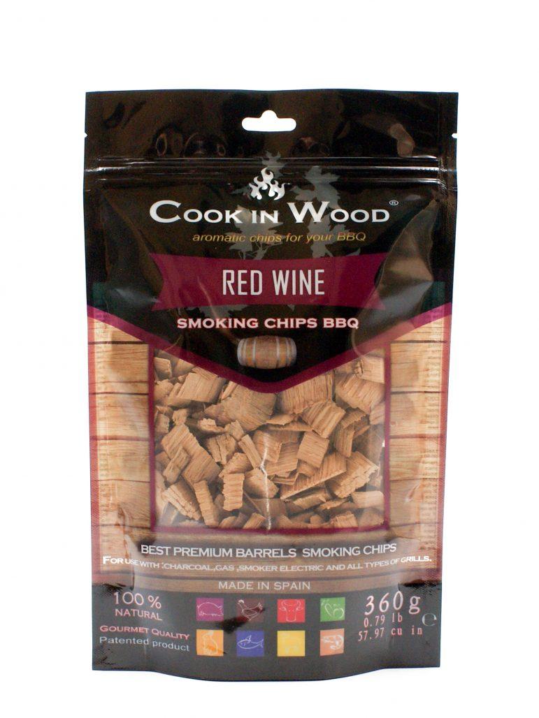 Image Smoking Chips Red Wine