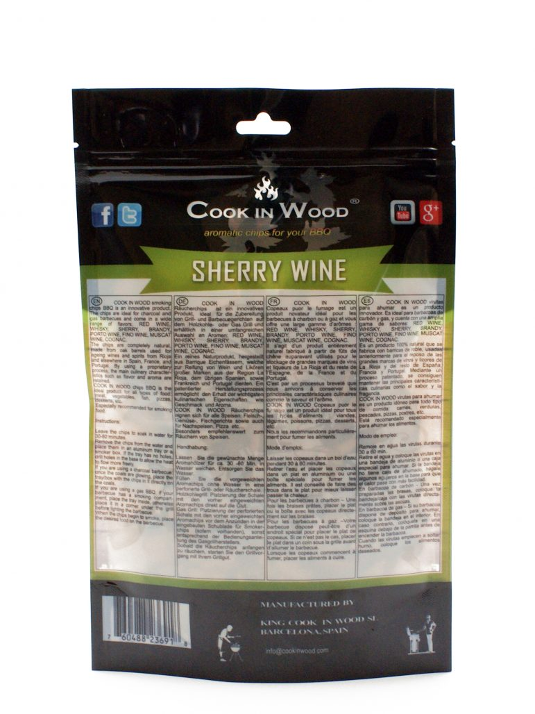 Image Smoking Chips Sherry Wine Back