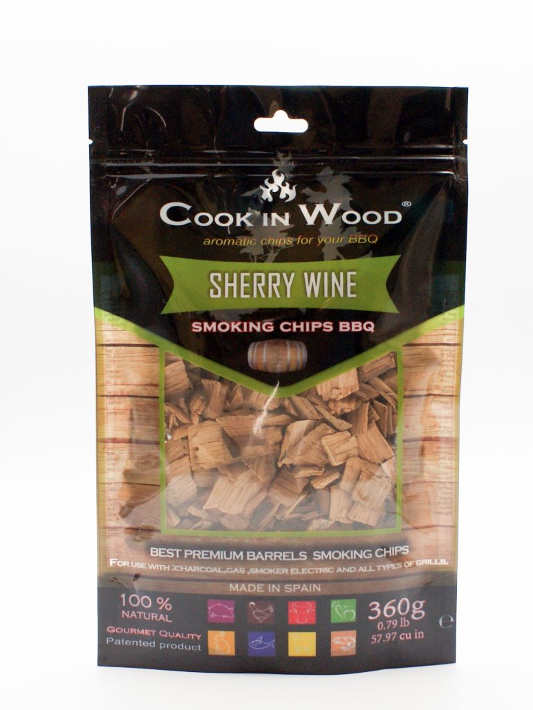 Image Smoking Chips Sherry Wine