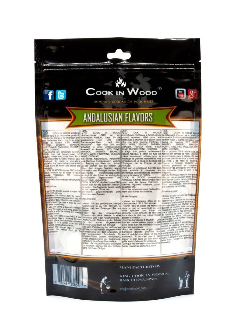Andalucian Flavor Chunks 500 Grams Back