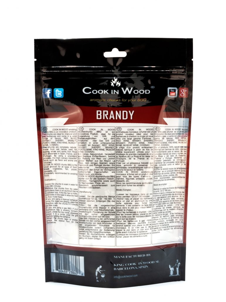 Brandy Chunks 500 Grams Image Back