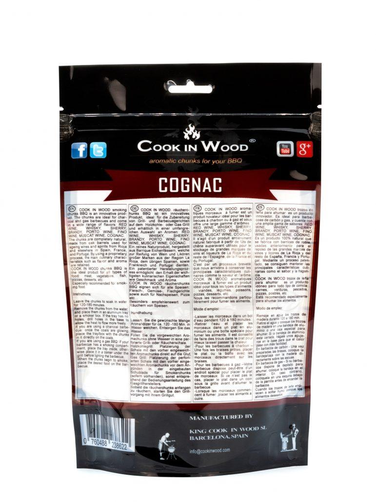 Cognac Chunks 500 Grams Image Back
