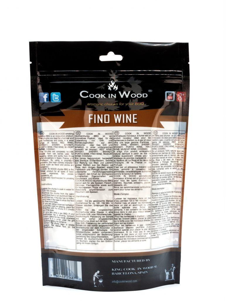 Fino Wine Chunks 500 Grams Image Back