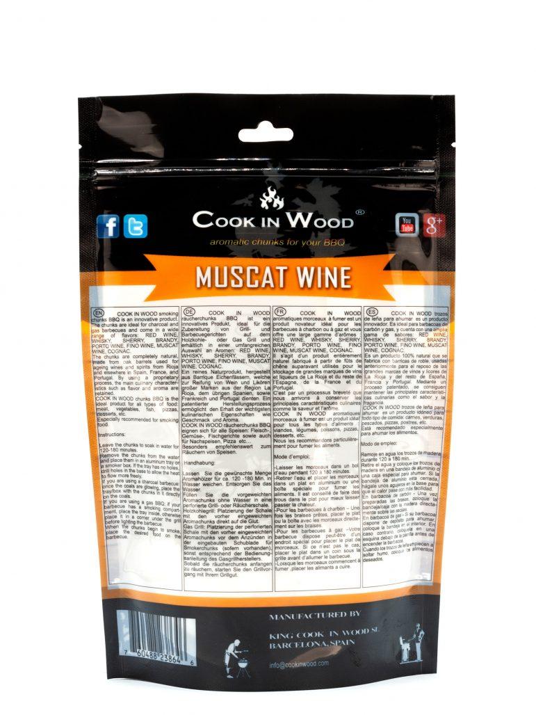 Muscat Wine Chunks 500 Grams Image Back
